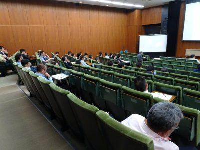 令和元年度 第1回講演会を開催しました。